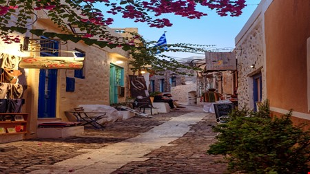 Syros Island greece accommodation for digital nomads